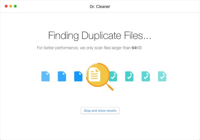 Dr. Cleaner -mte- Encontrar archivos duplicados