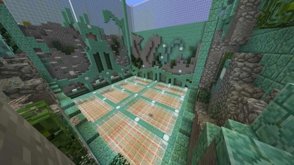 Fragmento de Prismarine en Minecraft