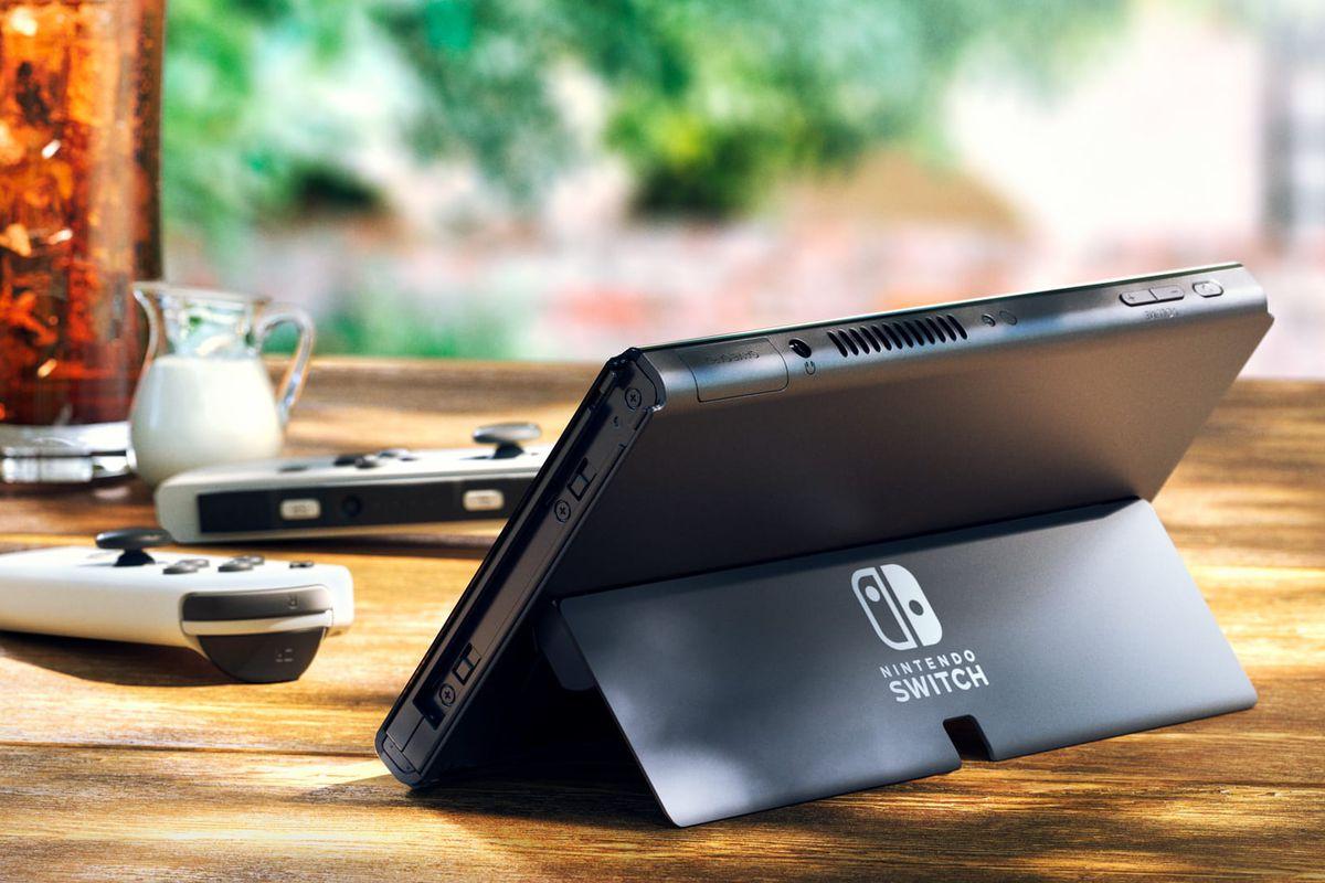Nintendo Switch con pantalla OLED