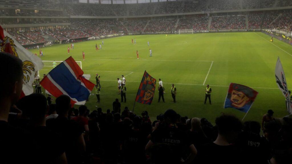 Estadio Steaua - Moyens I/O
