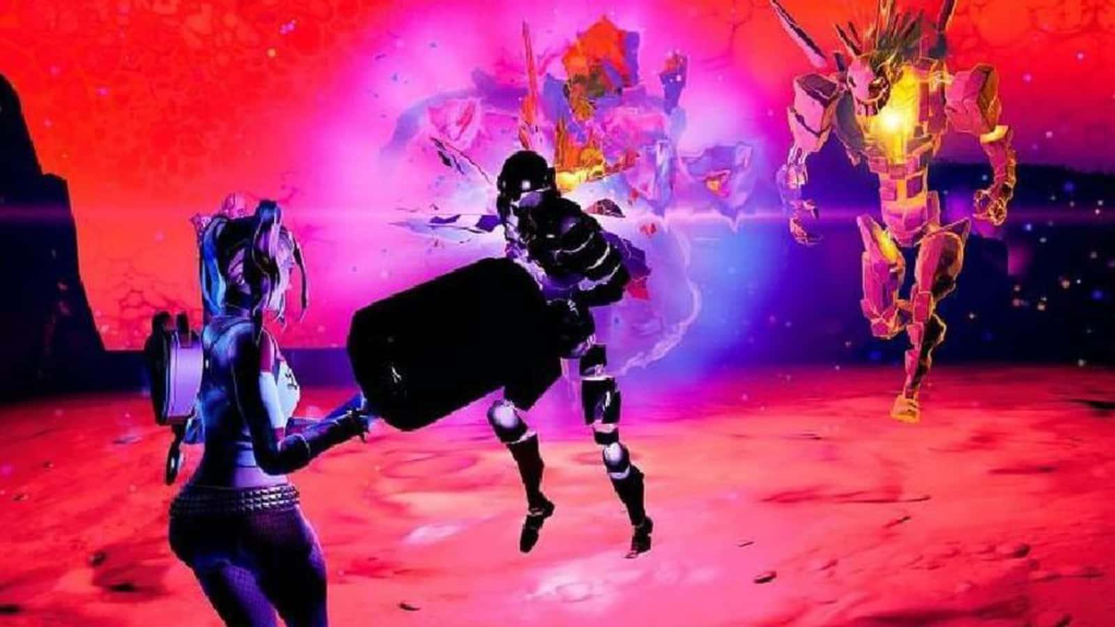 Cómo eliminar Fortnite Cube Monsters de lado en la temporada 8