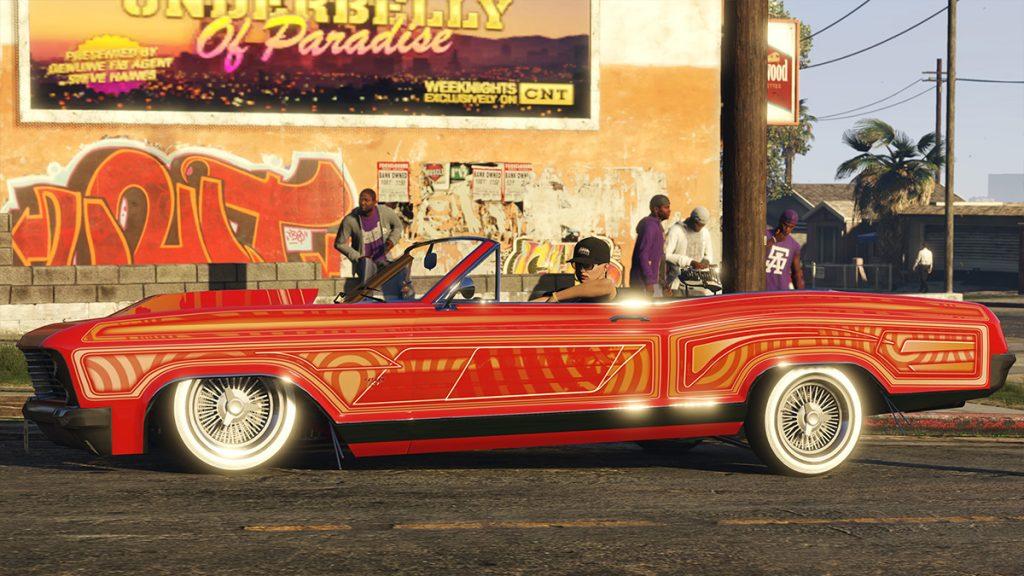 coche personalizado lowriders de gta online