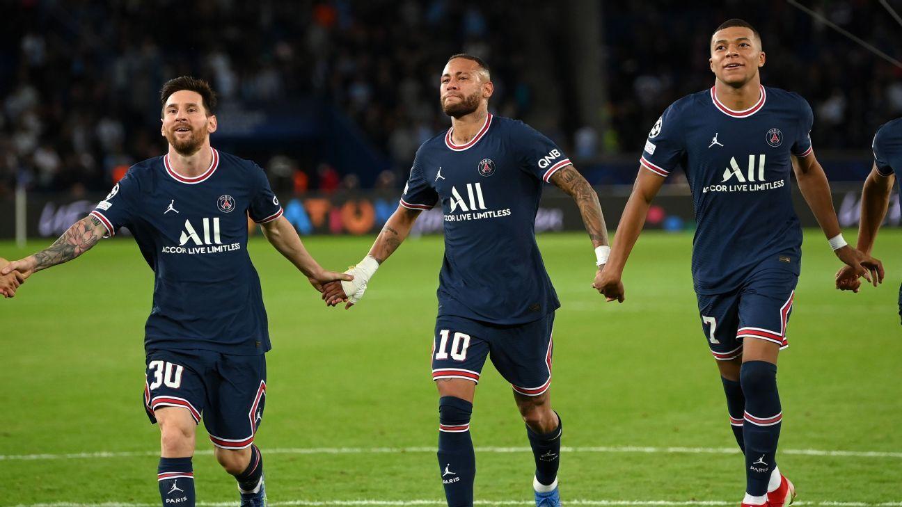 El trío de Kylian Mbappé, Lionel Messi y Neymar es perfecto