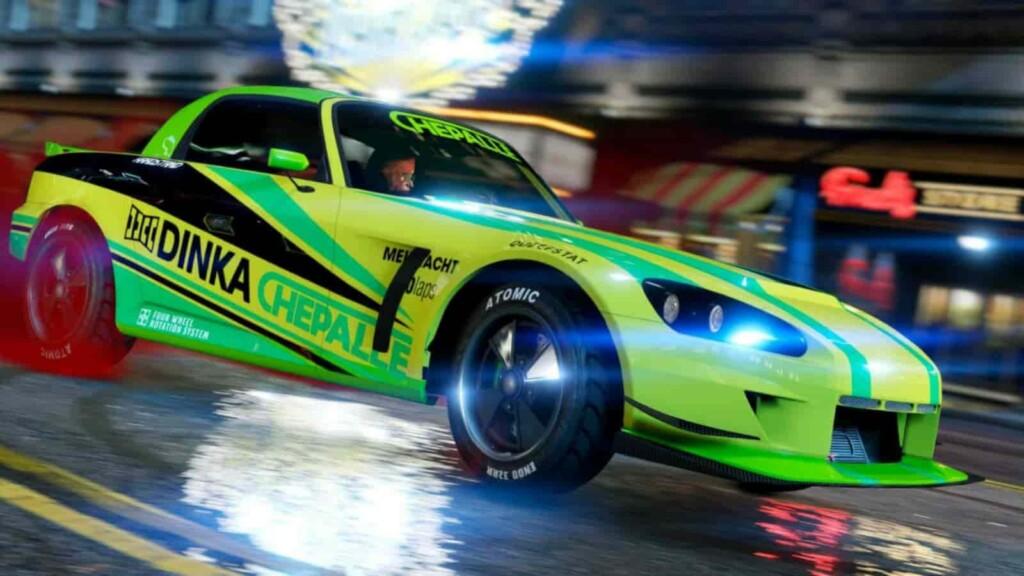 Los 3 autos más rápidos en el nuevo DLC de GTA 5