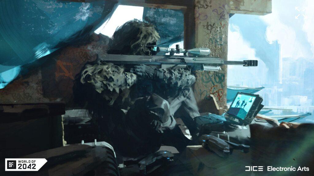 Especialista de Casper Recon en Battlefield 2042