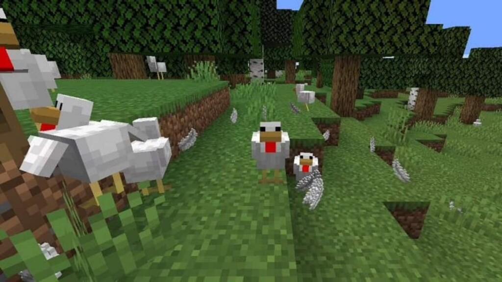 Plumas De Minecraft