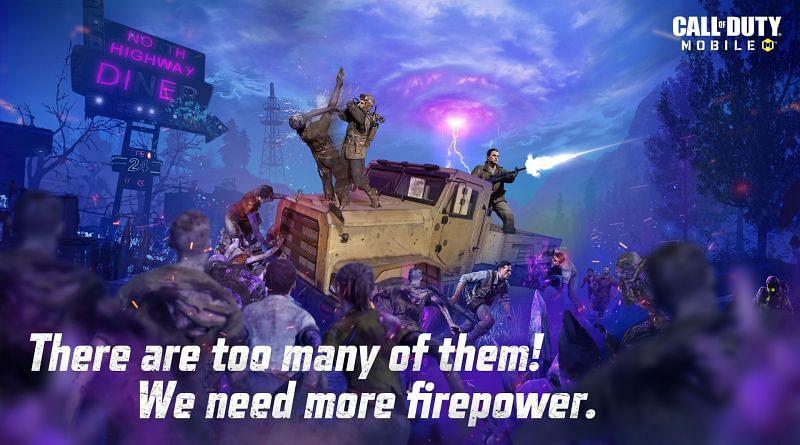 Undead Siege trará zumbis de volta para COD Mobile (imagem via Call of Duty)