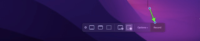 Comece a gravar a chamada FaceTime no Mac